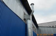 Проект системы вентиляции - производственное ...